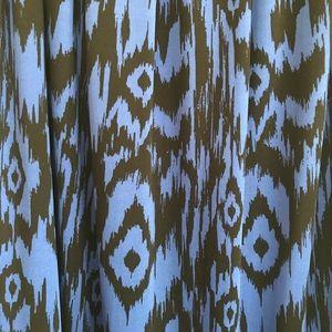 Metro Wear Skirts - Full length bohemian skirt